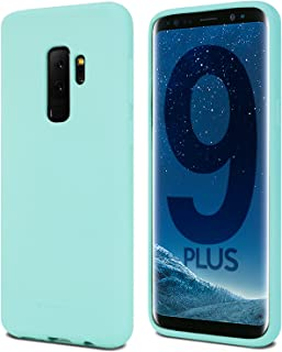 Goospery Soft Feeling Jelly for Samsung Galaxy S9 Plus Case (2018) Silky Slim Bumper Cover (Mint) S9P-SFJEL-MNT