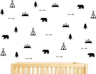 Best black bear wall stickers Reviews