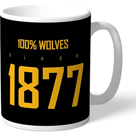 Personalised Official Wolves Legend Mug