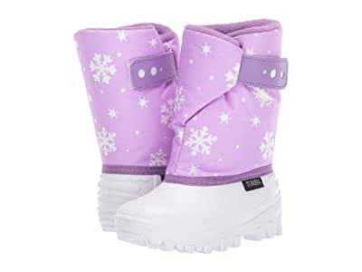 Tundra Boots Kids Teddy (Toddler/Little Kid) (Liliac/White) Girls Shoes