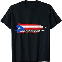 Puerto Rican | Mayaguez Camisas Puerto Rico Flag Map T Shirt