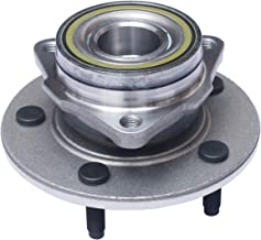 TUCAREST 515038 Front Wheel Bearing and Hub Assembly Compatible 2000 2001 Dodge Ram 1500 (2-Wheel ABS Models Only) [4WD 5 Lug W/O ABS]