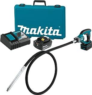 Makita XRV02T 5.0 Ah 18V LXT Lithium-Ion Cordless Concrete Vibrator Kit, 8'