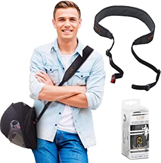 Motorcycle Helmet Carrier Strap – Hands-Free, Motorbike Accessory. Convenient,..