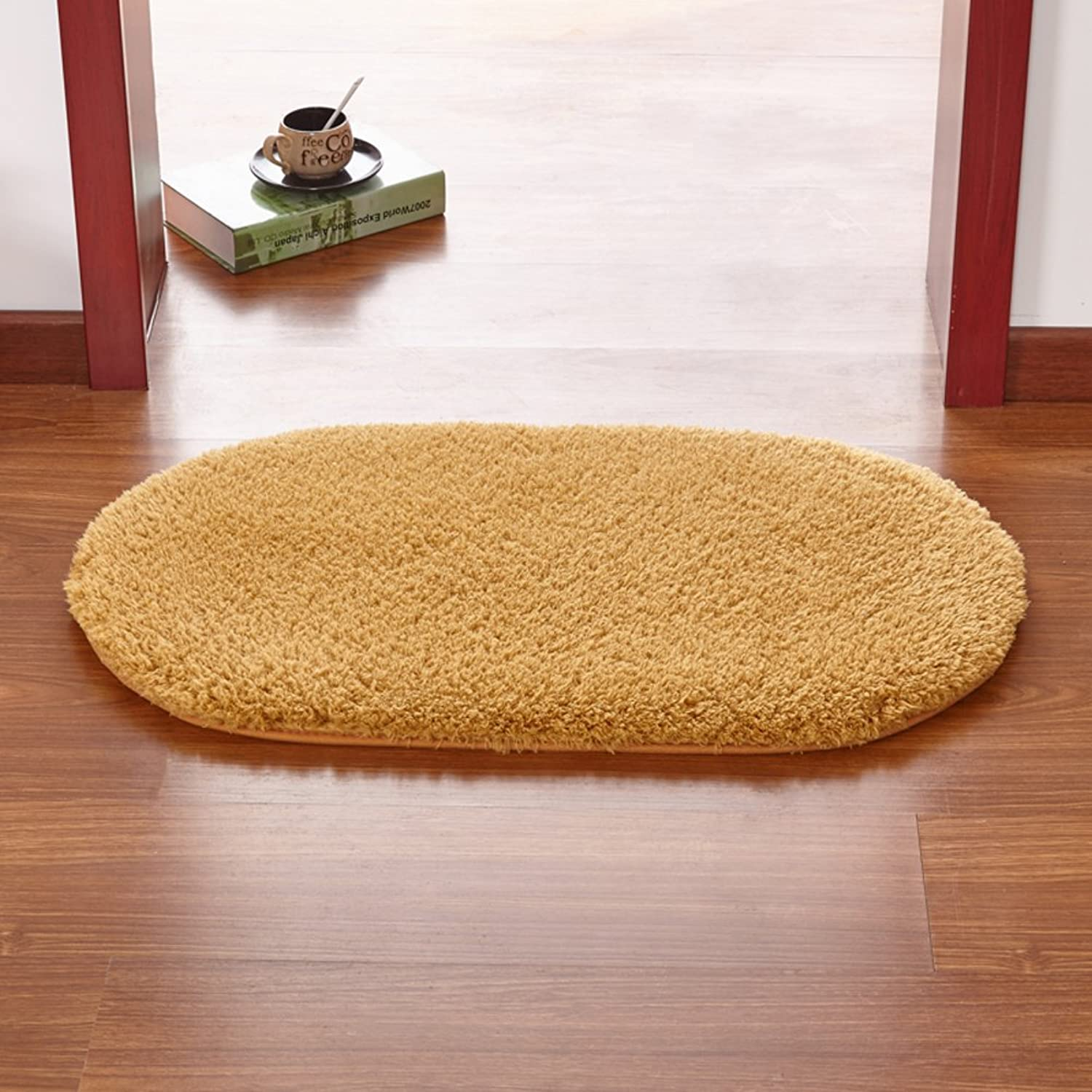 Doormats Kitchen Bathroom Water-Absorption Anti-Skid mat Bedroom Blanket for Bedroom -K 100x200cm(39x79inch)