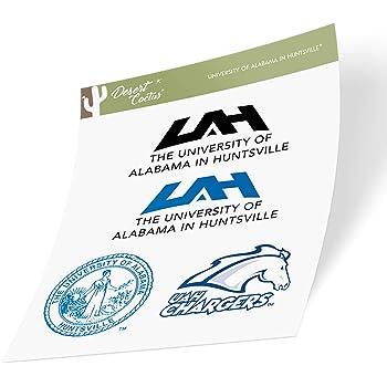 Sticker - 00011 University of Alabama in Huntsville UAH Chargers NCAA Vinyl Decal Laptop Water Bottle Car Scrapbook