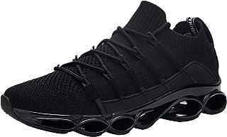 DYKHMATE Chaussure de Securite Homme Legere Respirant Baskets de Sécurité Embout Acier Chaussures de Travail Antidérapante