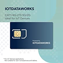 IoTDataWorks 3-in-1 Triple Cut IoT SIM Card | Flexible Data Plan Options | No Contracts Required | Designed for IoT Devices - No Voice/SMS | IoT SIM Card Only | IotDataWorks USA