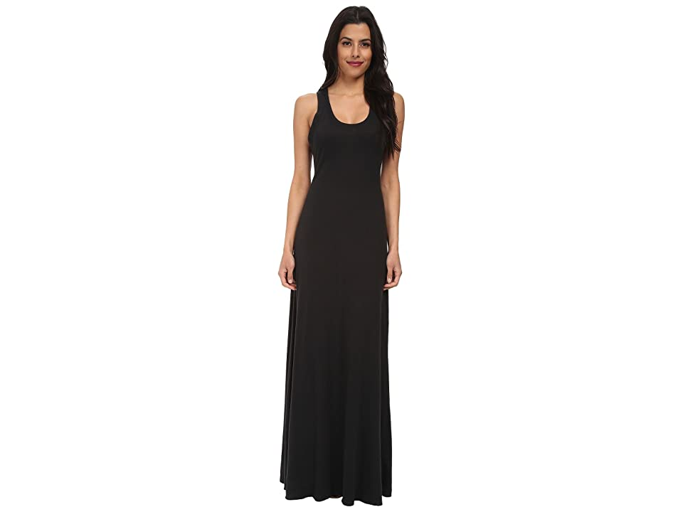 Alternative Racerback Maxi Dress (Eco True Black) Women