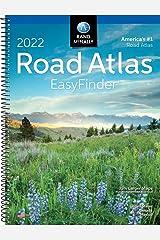 Rand McNally 2022 EasyFinder Midsize Road Atlas (Rand McNally Road Atlas Midsize Easy Finder) Spiral-bound