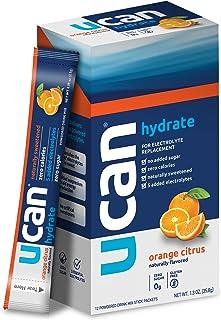 UCAN Hydration Powder Packets - Keto Hydrate Powder - Sugar Free Electrolyte Powder - 0 Carbs & Calories, Gluten-Free, No...