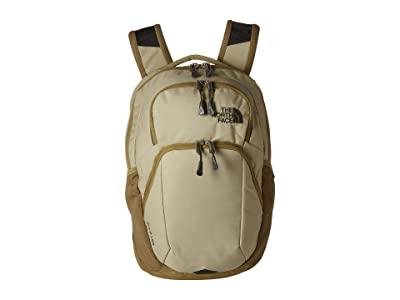 The North Face Pivoter Backpack (Twill Beige/British Khaki) Backpack Bags