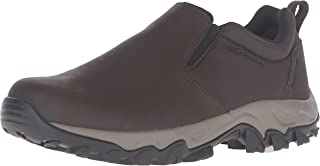 Men's Newton Ridge Plus Moc Waterproof Uniform Dress Shoe