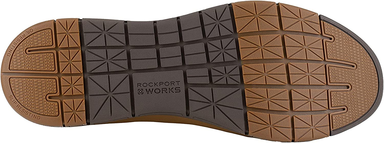 Rockport Works Primetime Casuals Work ST Lace Men's Oxford