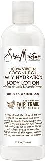 Shea Moisture Virgin Coconut Oil Daily Hydration Body Lotion, 13 Ounce