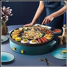 Draagbare elektrische kookmachine voor thuisgebrui Barbecue Hot Pot Double Pot, Integrated Cooker Pot met niet-aanbaklaag ...