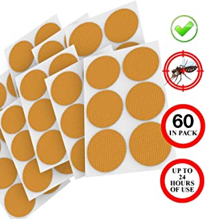 Delaspe Parche antimosquitos no tóxico Parche antimosquitos portátil para Proteger a Adultos y niños