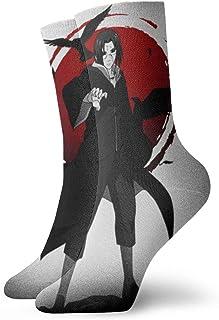 Maikurixukay, Naruto Uchiha Itachi - Calcetines para hombre y mujer, para senderismo y senderismo, para niños y niñas, lindos cómodos, transpirables, informales, calcetines