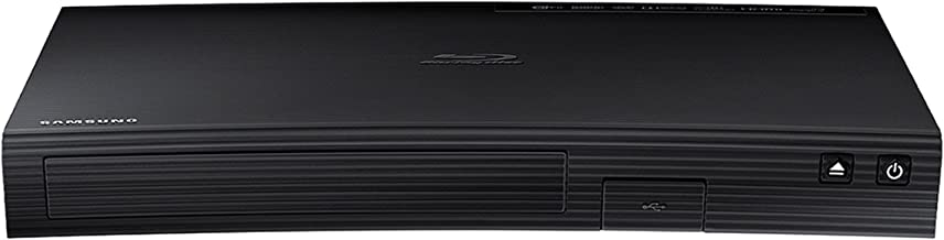 $68 Get Samsung BD-J5700/ BD-JM57 Wi-Fi Blu-ray Disc Player with Tyler 6ft HDMI Cable (Renewed)
