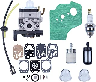 Haishine Carburador Carb Junta Diaphargm Kit para Honda GX35 HHT35 HHT35S Motor Motor Trimmers Cortador de Cepillo Bomba de Agua Generador