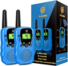 dmazing Walkie Talkies for Kids, 3 Mile Range - Best Gifts for Kids