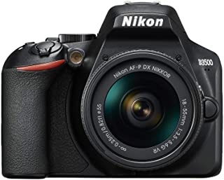 Nikon D3500 - Cámara digital 242 MP VR (242 MP 6000 x 4000 Pixeles CMOS Full HD 365 g Negro)