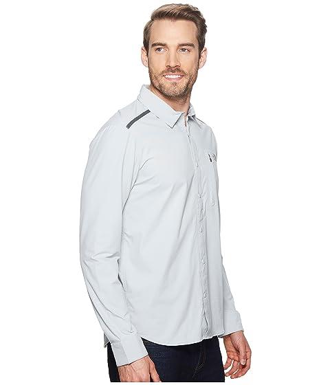 Camisa gran Alpenbro de Face altura The gris manga de North larga tejida vTv7qf0wr