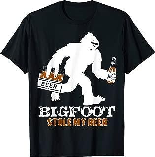 bigfoot stole my beer t shirt