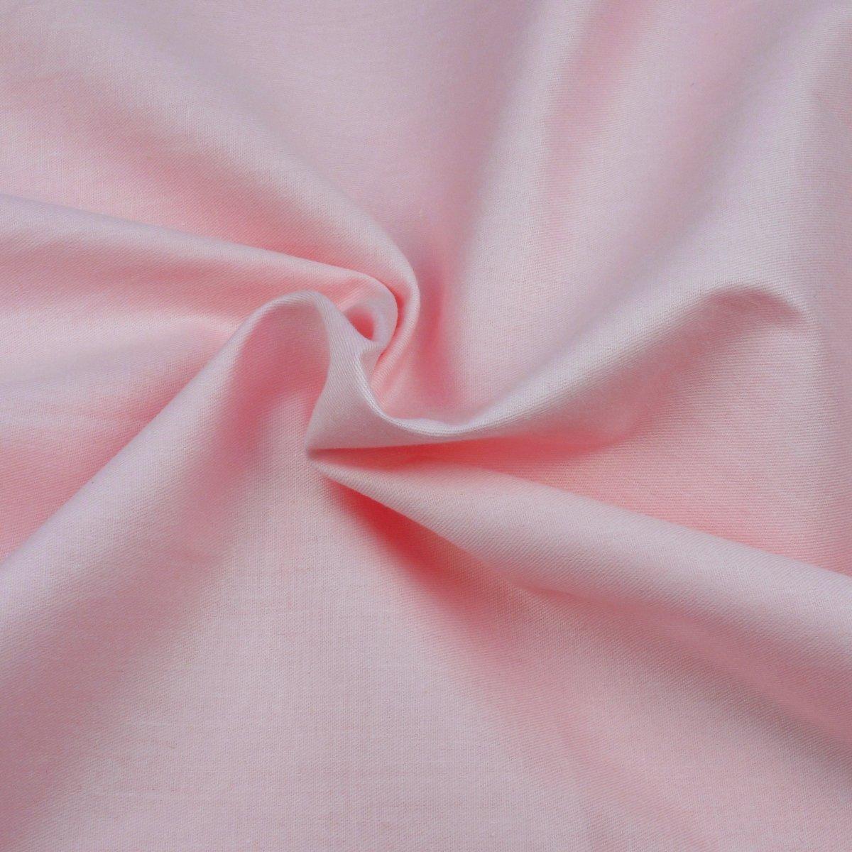 100% puro algodón rosa láminas de tejido sólido Plain colores, 160 cm extra de ancho – se vende por metro: Amazon.es: Hogar