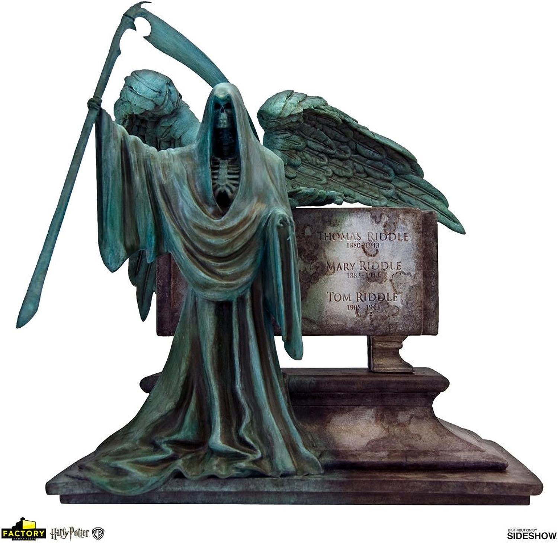 Factory Entertainment 408044 Harry Potter  Riddle Family Grave Limited Edition Desktop Sculpture, Green