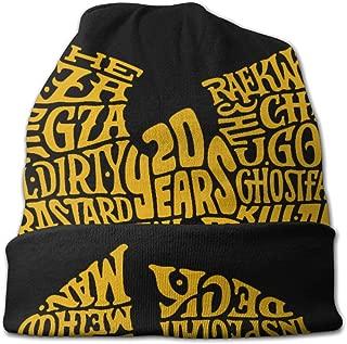 Wu Tang Clan Fashion Custom Beanie Men Women - Unisex Cuffed Plain Skull Knit Hat Cap Black