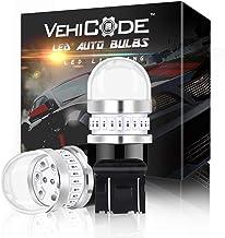 سيارة لمبة إضاءة LED فائقة السطوع 950Lms 7443 حمراء مزدوجة الاتصال - 7440 7441 7444 T20 992 W21W WY21W استبدال إشارة الانع...