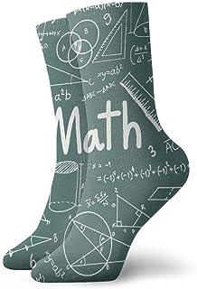 yting, Matemáticas Fórmula matemática Ecuación Calcetines de vestir Calcetines divertidos Calcetines locos Calcetines casuales para niñas Niños