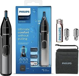 Philips Neustrimmer 3000 Serie - Trim neus-, oor- en wenkbrauwhaar - Volledig afspoelbaar - Huidbeschermer - Roestvrijstal...
