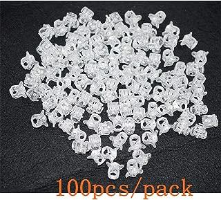 100pc/pack 1cm Hair Claws Clip for Women Girls Plastic Mini Hairpin Hair Clip Clamp Hair Accessories Gifts (100pcs clear)