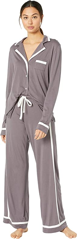 Bella Amore Long Sleeve Top Pants PJ Set