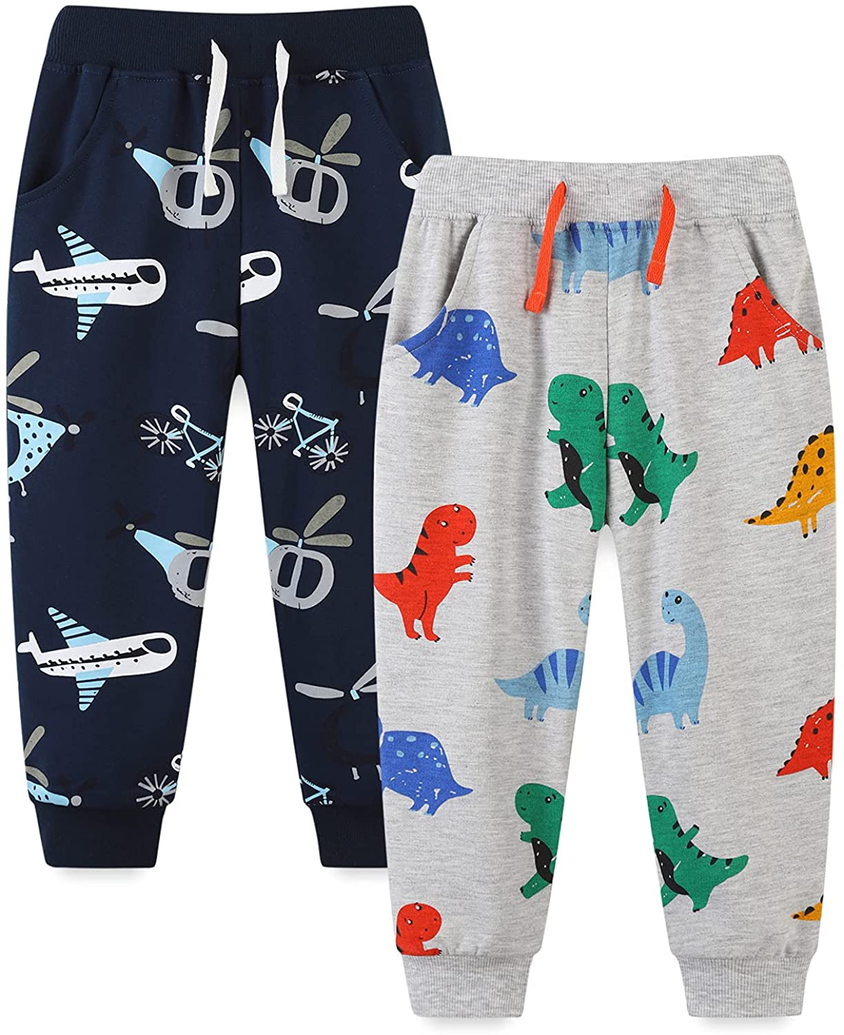 Bumeex Baby Selling and selling and Toddler Boys' 2-Pack Pants Pull on French It is very popular Terry