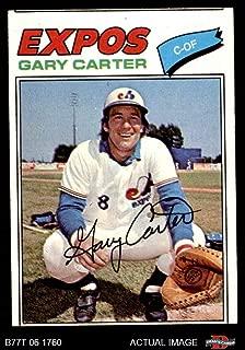 1977 Topps # 295 Gary Carter Montreal Expos (Baseball Card) Dean's Cards 2 - GOOD Expos