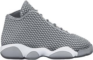 half off 07444 d3a15 Nike Boy s Jordan Horizon Basketball Shoe (PS) Wolf Grey Dark Grey White