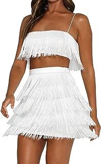 2 pc white dress