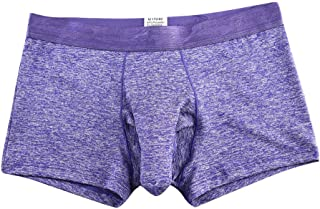 Fxbar,Men's Sexy Elephant Underwear Boxers Briefs Stretch Sheath Underpants Passion Honeymoon Bulge Enhancing Lingerie
