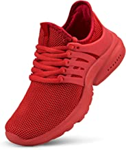 domirica Boys Shoes Non-Slip Girls Sneakers Lightweight Tennis Shoes Breathable Athletic Running Hiking Walking Shoes