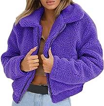 Sales Jackets Winter Warm Artificial Wool Cardigan Coat Outwear AfterSo Womens