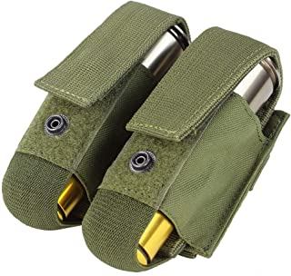 Condor Outdoors Condor MA13 40mm Grenade Pouch,Olive,Holds 2