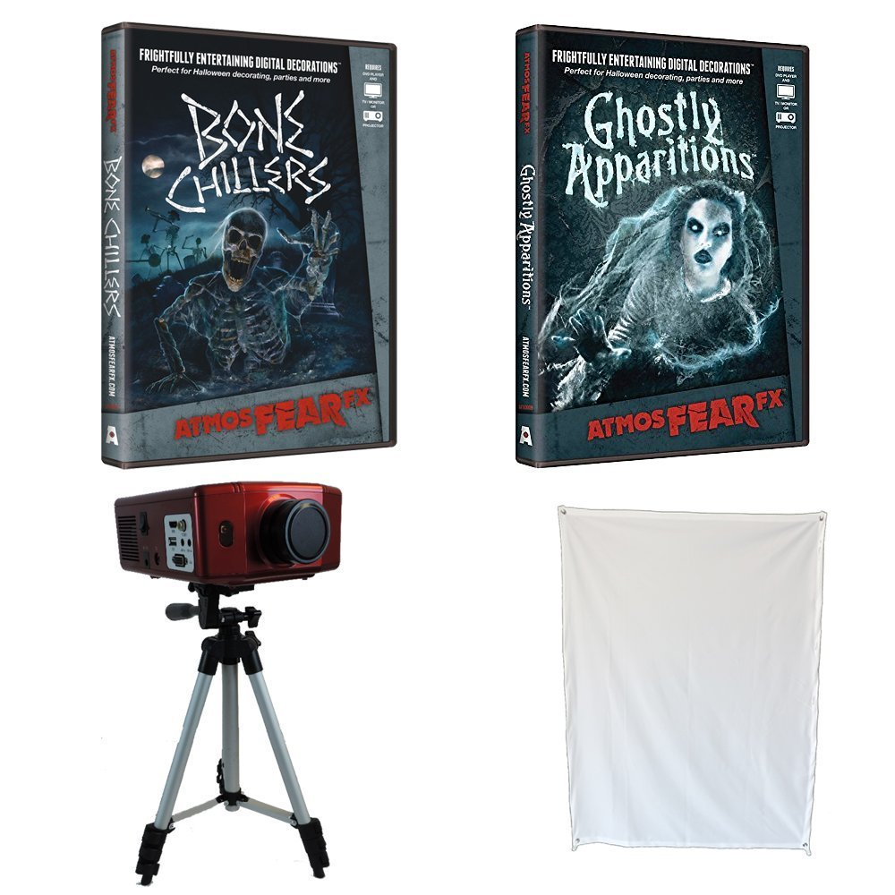 Atmosfear FX Fantasmas Apparitions & Bone Chillers Especial. DVD ...