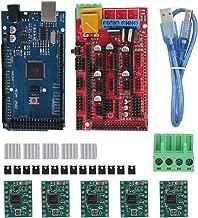 19pcs Capuchon de connexion avec c/âble USB pour Arduino RepRap Kit dimprimante 3D Contr/ôleur RAMPS 1.4 5pcs Mondule de Pilote A4988 Carte MEGA2560 R3 5pcs Dissipateur de chaleur