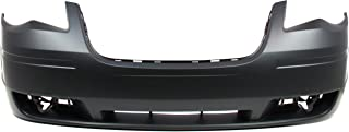Front Bumper Cover for CHRYSLER TOWN AND COUNTRY 2008-2010 Primed - CAPA