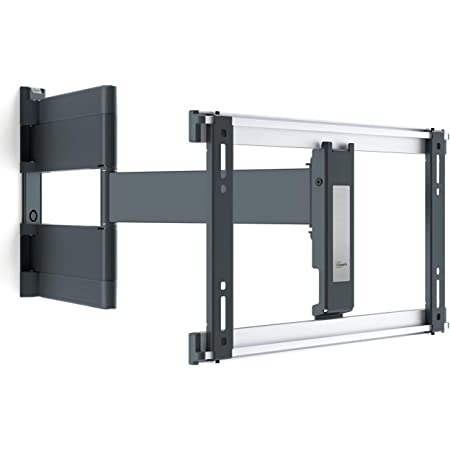 Vogel's THIN 546 full-motion OLED TV wall mount for 40-65 inch TVs   Swivels up to 180º   Max. 66 lbs (30 kg)   Max. VESA 400x400   Ultra slim TV wall mount   TÜV certified