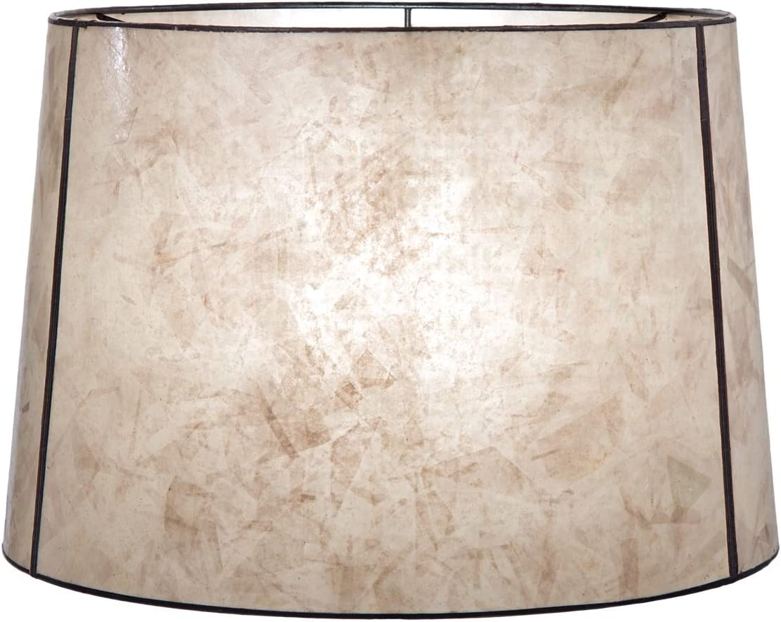 BP Lamp Parchment Quality inspection Deep Trust Drum Mica 18 12 X Shade 16