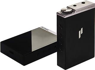 PLENUE D3 (64GB), High Resolution Audio Player, Bluetooth, Dual DAC, Volume Wheel, USB Type-C (Silver Black)